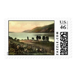 Granger's Point, Canandaigua NY 1915 Vintage stamp