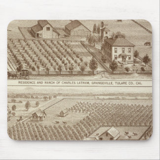 Grangeville, Armona ranches Mouse Pad