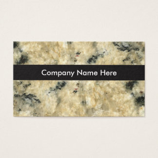 Granite Background Businesscards Business Card