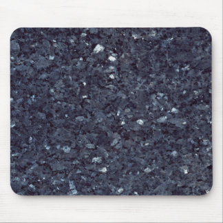 GRANITE BLUE-BLACK 1 MOUSE PAD