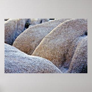 Granite Boulders - Joshua Tree National Monument Poster
