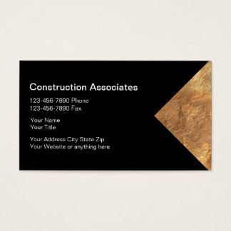 Granite Construction Business Cards