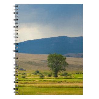 Granite County Montana Spiral Notebook