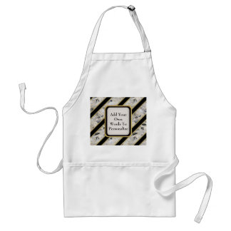 Granite & Gold Adult Apron