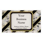 Granite & Gold Business Card Template