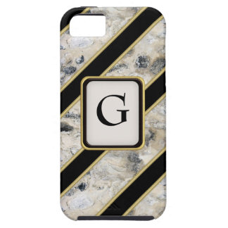 Granite & Gold iPhone 5 Case