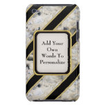 Granite & Gold iPod Touch Case