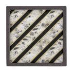Granite & Gold Premium Trinket Box