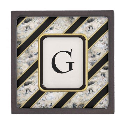 Granite & Gold Premium Trinket Boxes