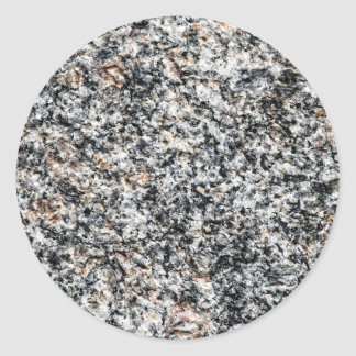Granite - Hard Rock Classic Round Sticker