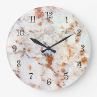 Granite Look Wall Kitchen Clocks