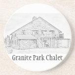 Granite Park Chalet Commemorative Coaster