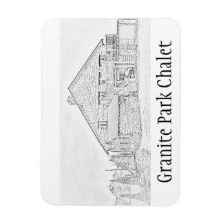 Granite Park Chalet Commemorative Magnet