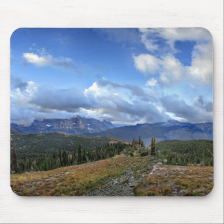 Granite Park - Glacier National Park Mouse Pad