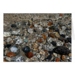 Granite Pebbles in Tenaya Lake Yosemite Nature Card