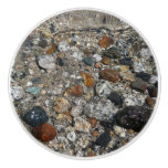 Granite Pebbles in Tenaya Lake Yosemite Nature Ceramic Knob