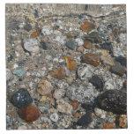 Granite Pebbles in Tenaya Lake Yosemite Nature Cloth Napkin