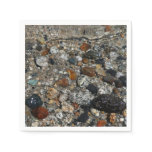 Granite Pebbles in Tenaya Lake Yosemite Nature Paper Napkin