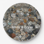 Granite Pebbles in Tenaya Lake Yosemite Nature Paper Plate
