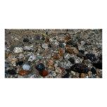 Granite Pebbles in Tenaya Lake Yosemite Nature Poster