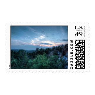 Granite Quarry Sunset Postage Stamp