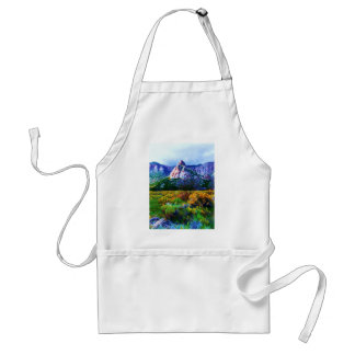 Granite Rock feature in Unaweep Valley Colorado Adult Apron