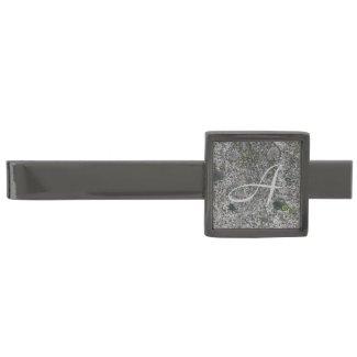 Granite Rock Grey with Initial