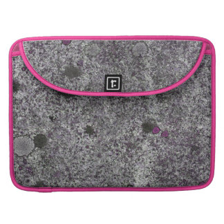 Granite Rock Grey with Pink details Sleeve For MacBook Pro