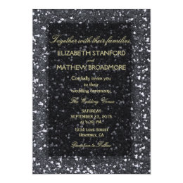 Granite Rock with Gold Lettering Card