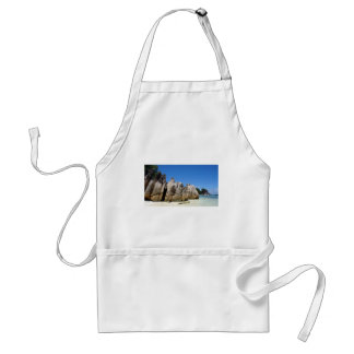 granite rocks adult apron