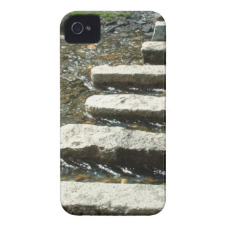 Granite Stepping stones across a river iPhone 4 Case