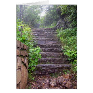Granite Steps Card