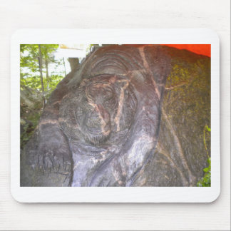 Granite Tiger by Hart Mouse Pad