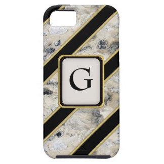 Granito y oro funda para iPhone SE/5/5s