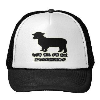 granja aceptable de las ovejas negras gorros bordados