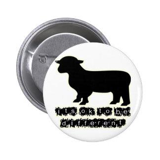 granja aceptable de las ovejas negras pin redondo 5 cm