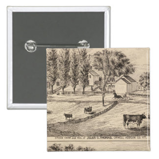 Granja común en Orwell Vermont Pins