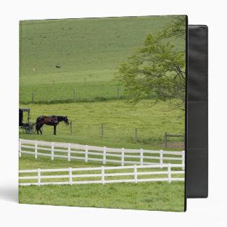 """Granja de Amish con el caballo y Berlín cercana co Carpeta 1 1/2"""""""