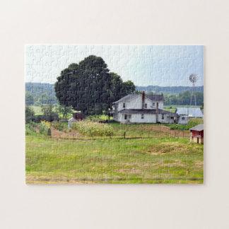 Granja de Amish del verano Puzzles