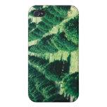 Granja de árbol de navidad iPhone 4 coberturas