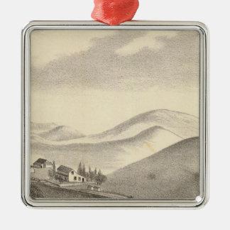 Granja de Blacow pico de la misión Ornamento De Navidad