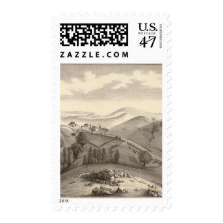 Granja de Blacow, pico de la misión Estampilla