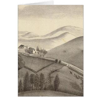 Granja de Blacow, pico de la misión Tarjeta De Felicitación