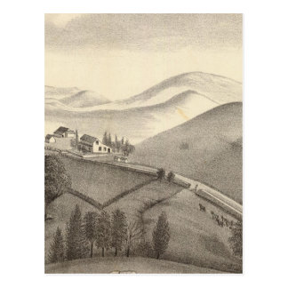 Granja de Blacow, pico de la misión Tarjetas Postales