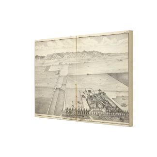 Granja de Briggs Impresión En Lienzo