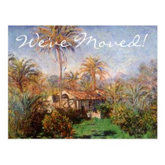 Granja de Claude Monet, cambio del país de Postales