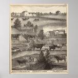 Granja de Cranmoor, Toms River, NJ Poster