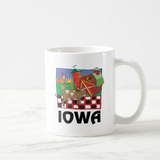 Granja de Iowa Tazas