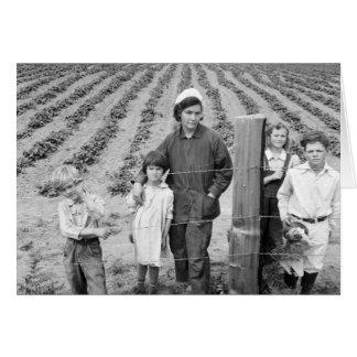 Granja de la familia de Arnold la nueva - 1939 Tarjeta
