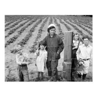 Granja de la familia de Arnold la nueva - 1939 Postal